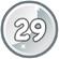 Level 29 icon