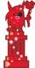 Red Glittery Big Bad Bill