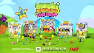 Moshi Monsters Egg Hunt Collectible Toy Commercial