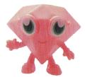 Roxy figure shocking pink