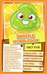 Top trump orange Snozzle Wobbleson