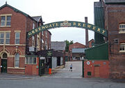 Gateway to the Greengate Brewery