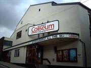 Outside Coloseum Theatre