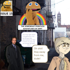 Mulder's love for Zippy proves to be triumphant as Mulder regains his memories of Zippy. He hunts down Oliver and gets into an epic fist fight with him in a quest to save Zippy.