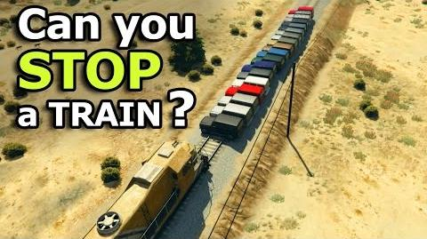 GTA V - Can you stop a Train?