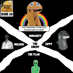The Spooky Aliens get ready to put their catastrophic plan to destroy two thirds of humanity into action. It is up to Zippy and Mulder to make sure they don't succeed!