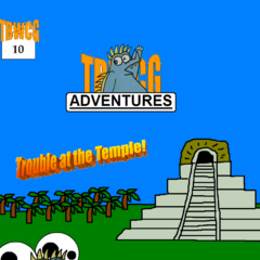 Issue 10 in which The Boy, Sanguine, and Sanchez enter the temple overtaken by Oliver Plot Twist. It ends on a cliffhanger with the boy appearing to have died.