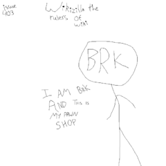 In this issue, BRK gets a pawn shop.