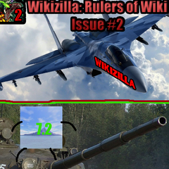 The 2nd Issue of the series, in which Wikizilla and Kaijupedia go to war.