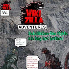 GodzillaZero-One discovers he is just one of many Godzilla creatures with designated numbers. He finds the only other one known to exist, <a href=
