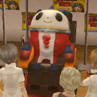 OMG Teddie in a massage chair. New Avatar. Lasted maybe 20 minutes.