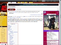 Wikizilla no top banner