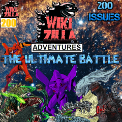 Issue 200, where Koopa, Spino, Deathrock9, Mosu, Meeston, the Boy and MKG get fused into one almighty being. It is up to the other Rulers of Wiki and their allies to help save the universe and restore the other Rulers to their former selves!