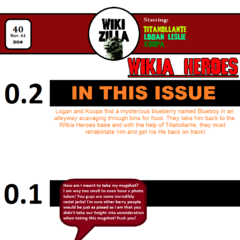 Issue 40, in which the Wikia Heroes meet <a href=
