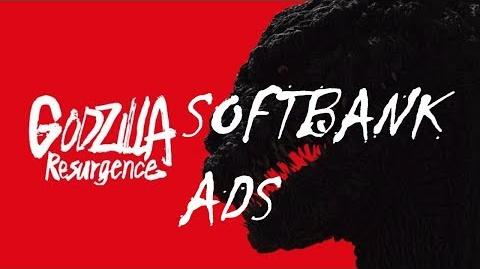 All SoftBank Shin Godzilla ad's