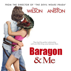 Photoshop Garbage #1) Baragon and Me