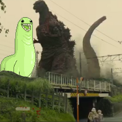 Photoshop Garbage #5) Bunchie and Shin Goji