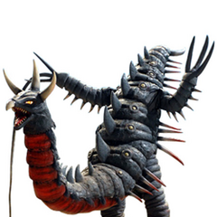 This Ultra kaiju looks bizarre. I remember someone brought him up on Wikizilla while it was on Wikia or something and I downloaded this image. Circa 2013-2014