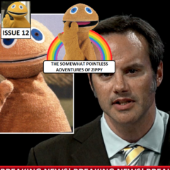 Zippy and Mulder are shocked after a popular news channel broadcasts blurred footage of their fight with the Spooky Aliens. They give the news channel an interview, finally revealing themselves to the world.