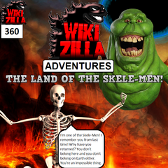 Accompanied by Slimer, Deathrock9 returns to the Under World where he once again meets the Skele-Men.