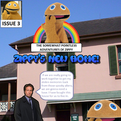 Zippy and Mulder begin their friendship by purchasing a house they can use as their base of operations.