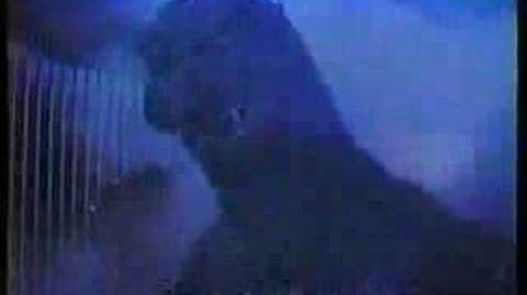 Godzilla 1985 Birthday Ad