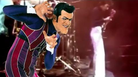We are Number One but with bad warp effects and every 'one' is replaced with We Are The Champions