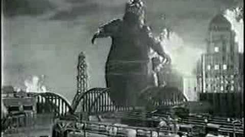 Godzilla 1985 Dr. Pepper Commercial -1