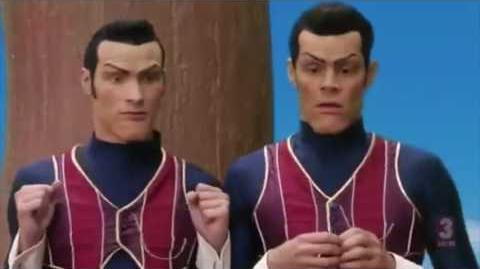 We Are Number One but as it actually appears in the episode