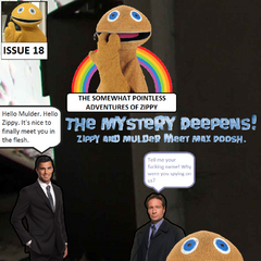 Investigating reports of a strange creature inside of an abandoned building, Zippy and Mulder come across <a href=