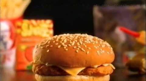 KFC - Godzilla Kids Meal - Australian Ad 1998