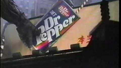 Godzilla 1985 Dr. Pepper