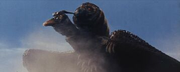 Mothra and rodan fly together