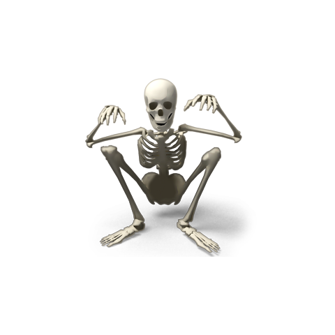 The only short Skele-Man, <a href=