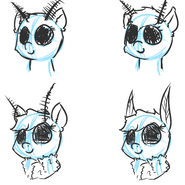 Mothpone faces