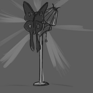 Mothpone likes lamps