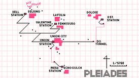 Pleiades map