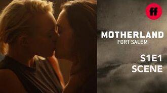 Motherland Season 1, Episode 1 Raelle & Scylla Kiss Freeform