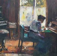 WomanwritingPainting