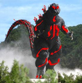Demonic godzilla form 3