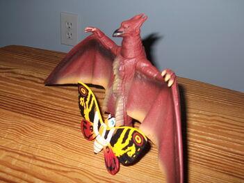 Fire Rodan+Mothra
