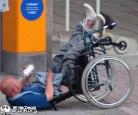 http://www.whileiwasdrunk.org/dont-worry-i-didnt-drop-my-bottle-drunken-wheelchair-drunk-824