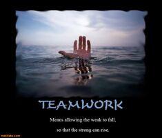 http://www.motifake.com/teamwork-teamwork-strong-weak-fall-rise-demotivational-posters-149244