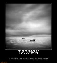 http://www.motifake.com/triumph-failure-pause-dramatic-effect-alone-demotivational-posters-148280