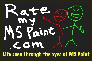 Logo - Rate My MS Paint