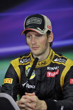 Romain Grosjean 2012