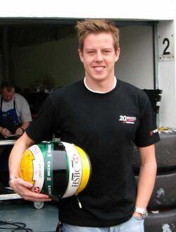 James Courtney 2002
