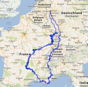 Geplante-route