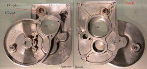 Einzelteile Getriebe Getriebedeckel