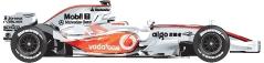 Formel-1-Saison 2008 McLaren